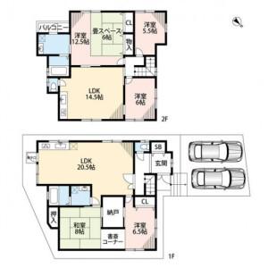 6LDK {building type} in Sakurai - Mino-shi Floorplan