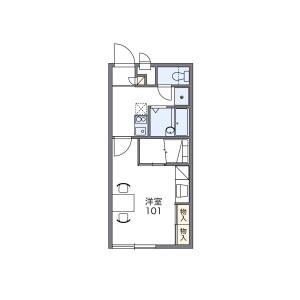 1K Apartment in Sakaidani - Maizuru-shi Floorplan