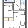1K Apartment to Rent in Takatsuki-shi Floorplan