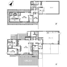 3LDK {building type} in Hotchi - Kitasaku-gun Karuizawa-machi Floorplan