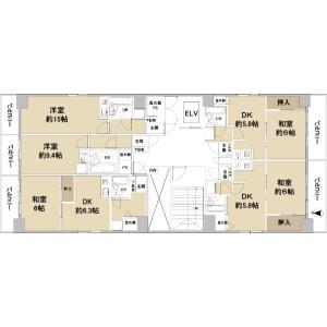 Whole Building {building type} in Shimanochi - Osaka-shi Chuo-ku Floorplan