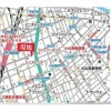 1LDK Apartment to Rent in Chiyoda-ku Access Map