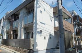 新宿區市谷台町-1K公寓