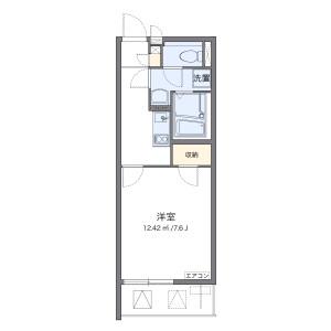 1K Mansion in Tomihisacho - Shinjuku-ku Floorplan