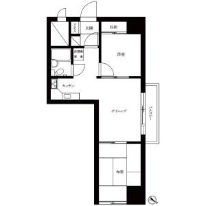 2DK Mansion in Otsuka - Bunkyo-ku Floorplan