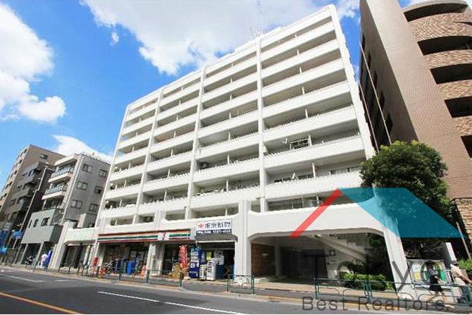 在中野區內租賃2SLDK 公寓大廈 的房產 戶外