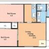 2LDK Apartment to Buy in Toshima-ku Floorplan