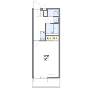 1K Mansion in Miyukicho - Saitama-shi Iwatsuki-ku Floorplan