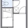 1K Apartment to Rent in Hadano-shi Floorplan