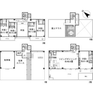 5SLDK {building type} in Yamakawa - Kunigami-gun Motobu-cho Floorplan