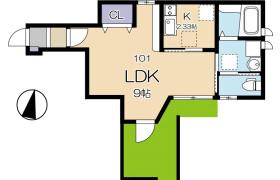 1K Apartment in Kamishakujiiminamicho - Nerima-ku