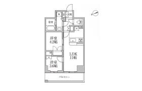 台東區小島-2LDK公寓大廈