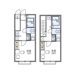 1K Apartment in Takamatsu - Toshima-ku Floorplan