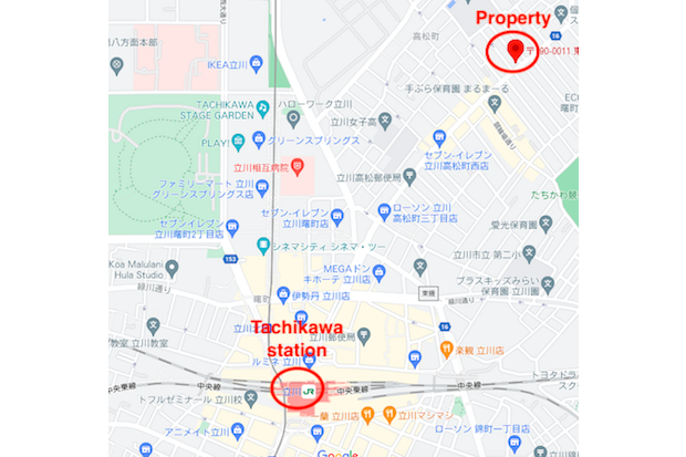 Whole Building Apartment to Buy in Tachikawa-shi Interior