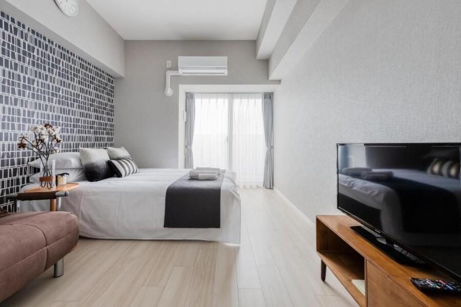 1K Apartment to Rent in Osaka-shi Higashiyodogawa-ku Bedroom