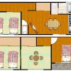4LDK House to Rent in Osaka-shi Nishinari-ku Floorplan