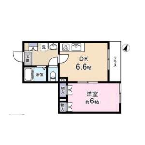 1DK Mansion in Kamimeguro - Meguro-ku Floorplan