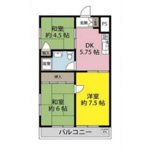 3DK {building type} in Shiba - Kawaguchi-shi Floorplan