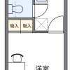 1K Apartment to Rent in Kofu-shi Floorplan