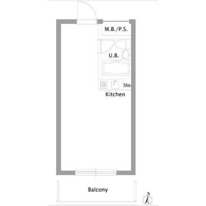 Shared Mansion in Sangenjaya - Setagaya-ku Floorplan