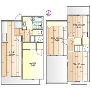 4LDK Town house in Seta - Setagaya-ku Floorplan