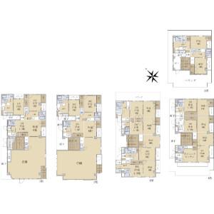 Whole Building {building type} in Nishikasai - Edogawa-ku Floorplan