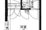 1K {building type} in Minoshima - Fukuoka-shi Hakata-ku