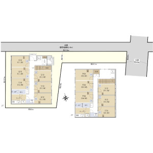 Whole Building {building type} in Omorinishi - Ota-ku Floorplan
