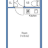 1R Apartment to Buy in Toshima-ku Floorplan