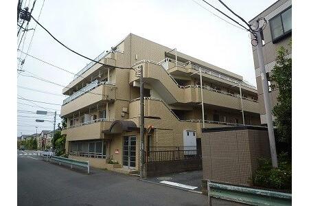 在东村山市内租赁2DK 公寓大厦 的 户外