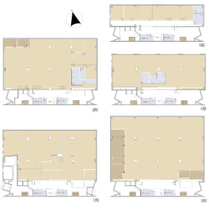 Whole Building {building type} in Shimmachi - Ome-shi Floorplan