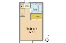 葛饰区亀有-1R公寓