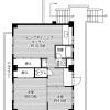 2LDK Apartment to Rent in Toyohashi-shi Floorplan