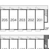 1K Apartment to Rent in Higashiyamato-shi Layout Drawing