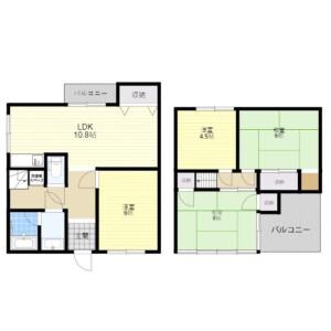 4LDK House in Takawashi - Habikino-shi Floorplan