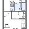 1K Apartment to Rent in Higashiomi-shi Floorplan