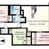 3LDK Apartment to Buy in Otsu-shi Floorplan