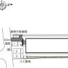 1K Apartment to Rent in Kyoto-shi Fushimi-ku Layout Drawing