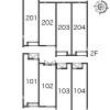 1K Apartment to Rent in Kita-ku Layout Drawing