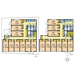 HanasakasuOYAMA - Guest House in Itabashi-ku Floorplan