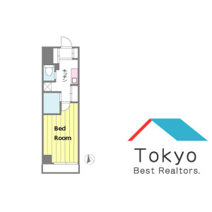 1K Mansion in Sotokanda - Chiyoda-ku Floorplan