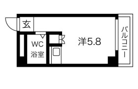1R Mansion in Himeshima - Osaka-shi Nishiyodogawa-ku