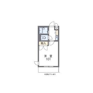 1K Mansion in Nikkocho - Moriguchi-shi Floorplan