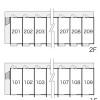 在中頭郡中城村內租賃1K 公寓大廈 的房產 Layout Drawing