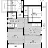 3DK Apartment to Rent in Nabari-shi Floorplan