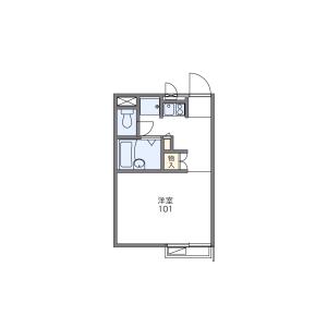 1K Apartment in Yakyucho - Higashimatsuyama-shi Floorplan